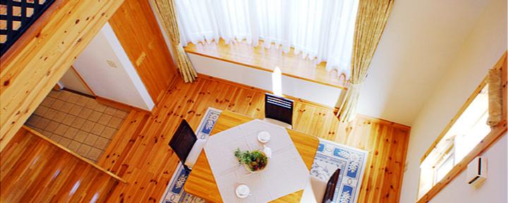 横浜市の注文住宅のモデルルーム内装