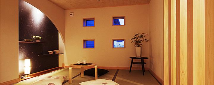 横浜市の自然素材の注文住宅のモデルハウス