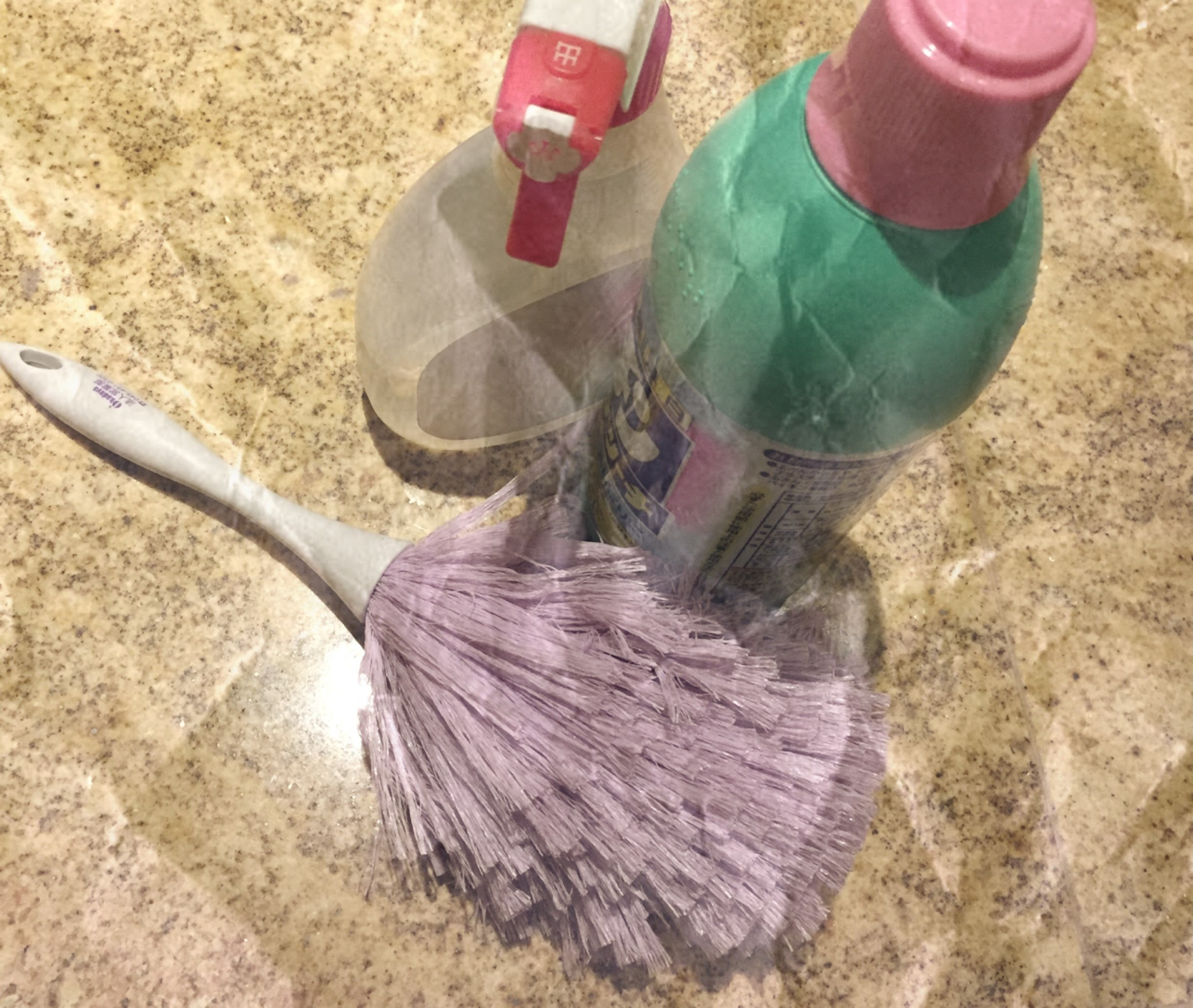 大掃除のときに