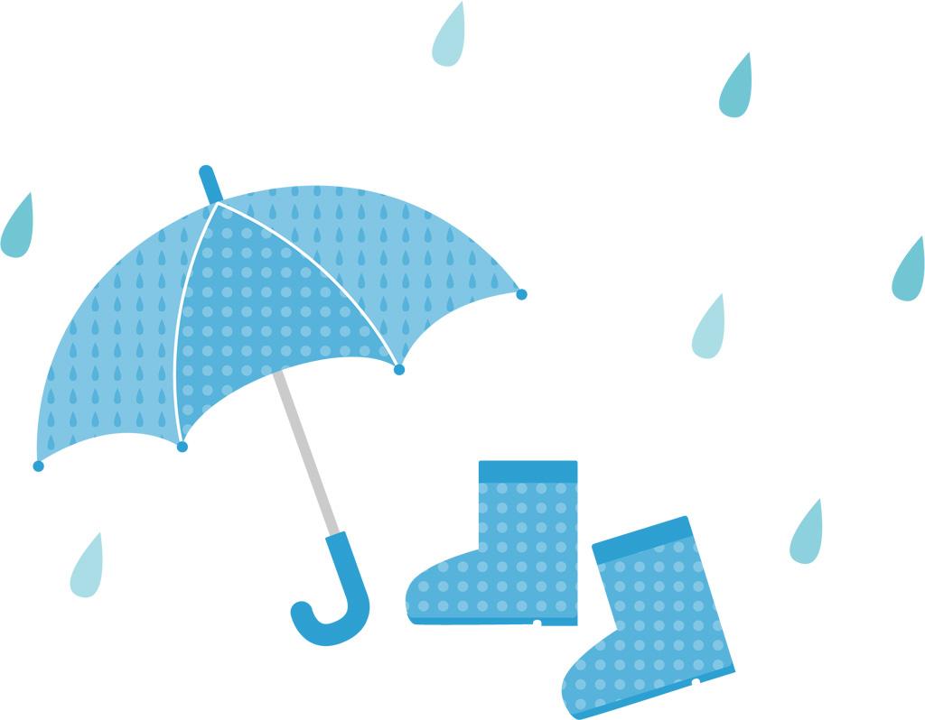 梅雨入り前にひと仕事してたら・・・梅雨が来た!