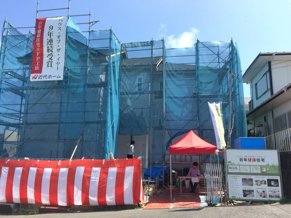 横浜市栄区の構造現場見学会