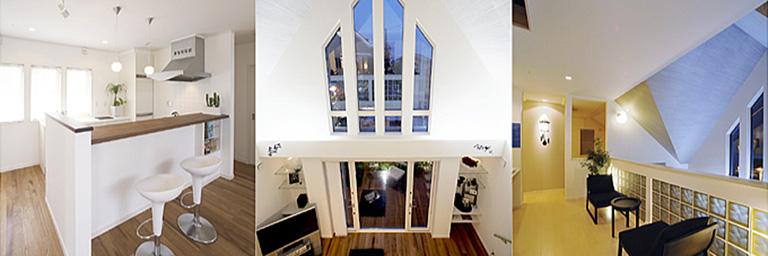 神奈川県横浜市の注文住宅の室内写真