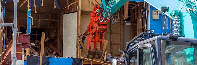 神奈川県横浜市の建て替えの際の解体・撤去