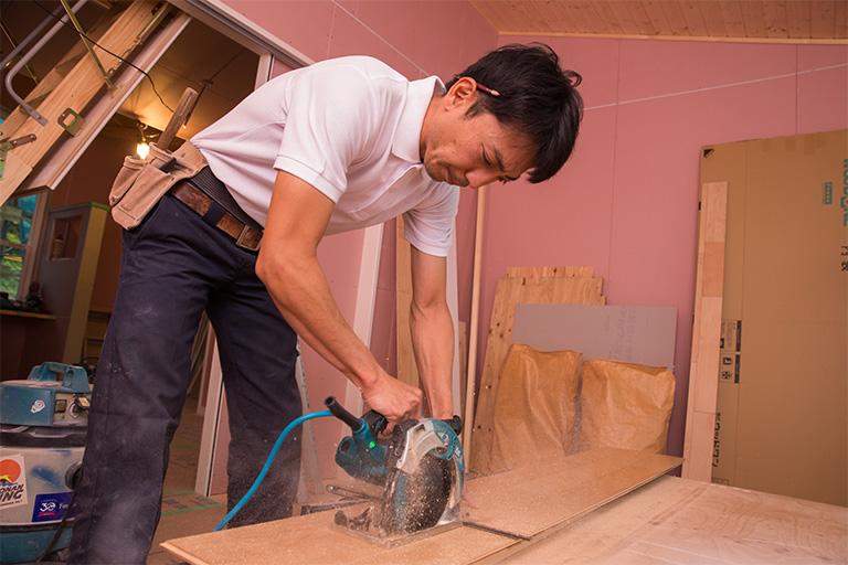 横浜市で新築一戸建ての建築スタッフ