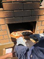 レンガのピザ窯
