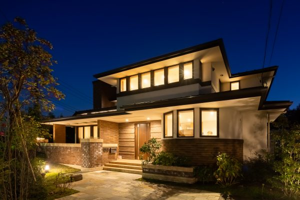 横浜の高級二世帯住宅