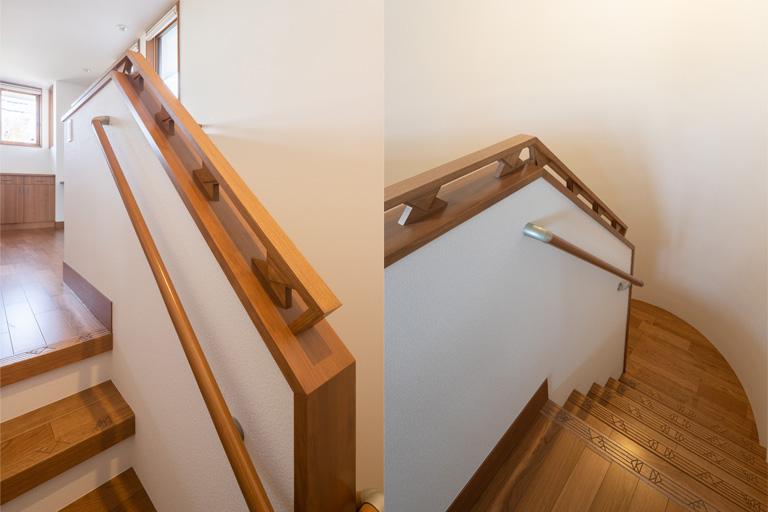 神奈川県横浜市の注文住宅デザイン階段