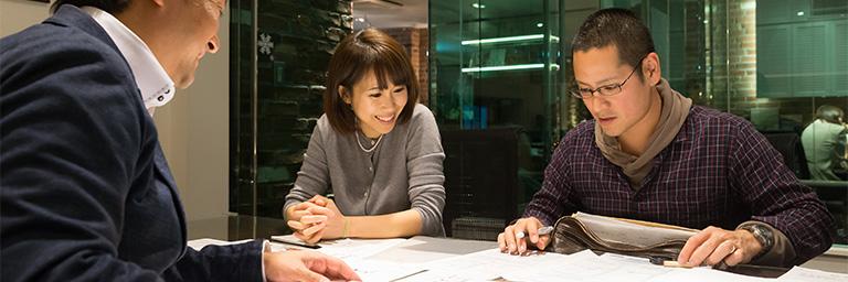 横浜市で注文住宅の内装打ち合わせ・実施計画図