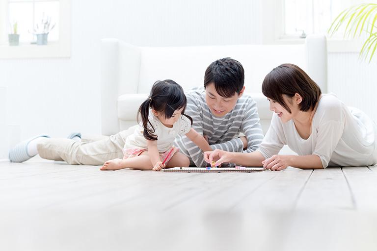 横浜市の蓄熱床暖房住宅