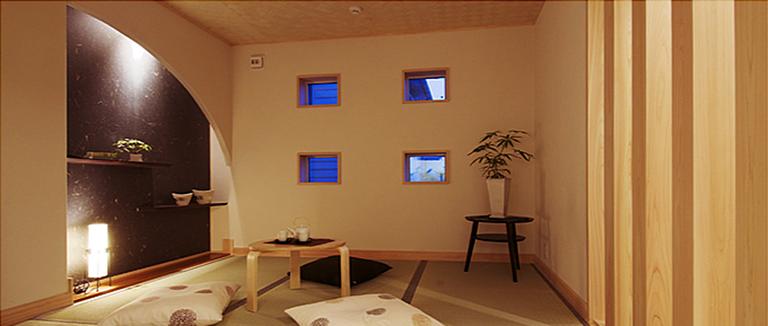 神奈川県横浜市の注文住宅のモデルハウス「レストルーム」