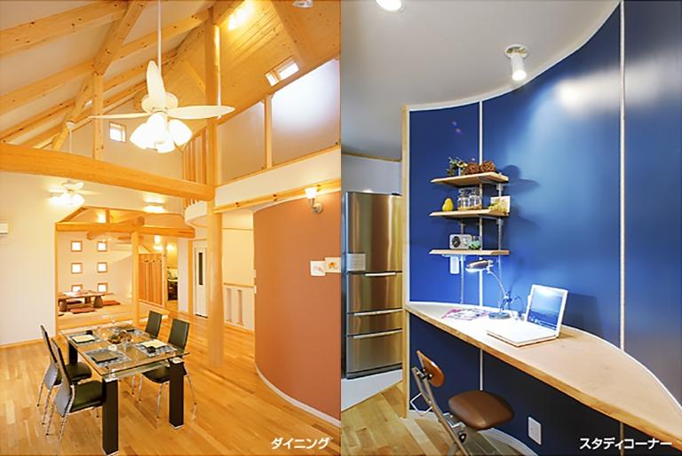 神奈川県横浜市の注文住宅「リビング」