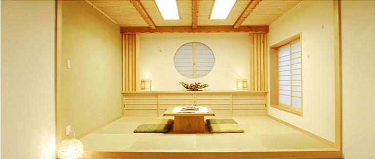 神奈川県横浜市の注文住宅「和室」