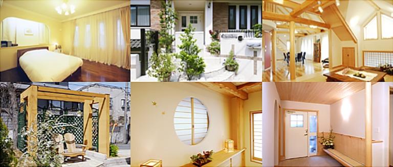 神奈川県横浜市の注文住宅の外観、内観