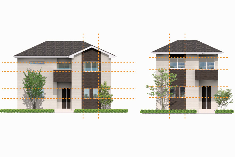 注文住宅の外観デザイン