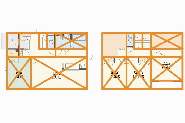注文住宅の構造デザイン