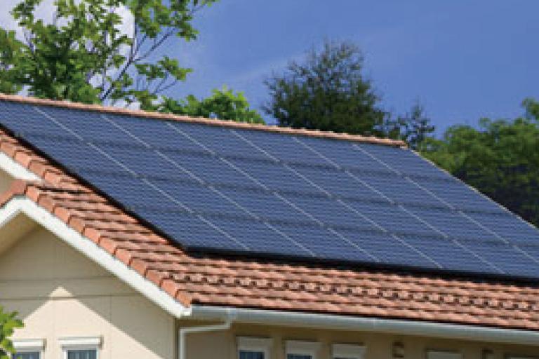 神奈川県横浜市の注文住宅の太陽光発電システム