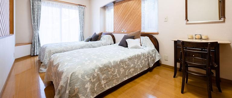神奈川県横浜市の注文住宅のベッドルーム