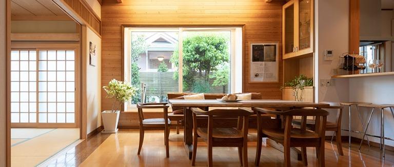 神奈川県横浜市の注文住宅のダイニングキッチン