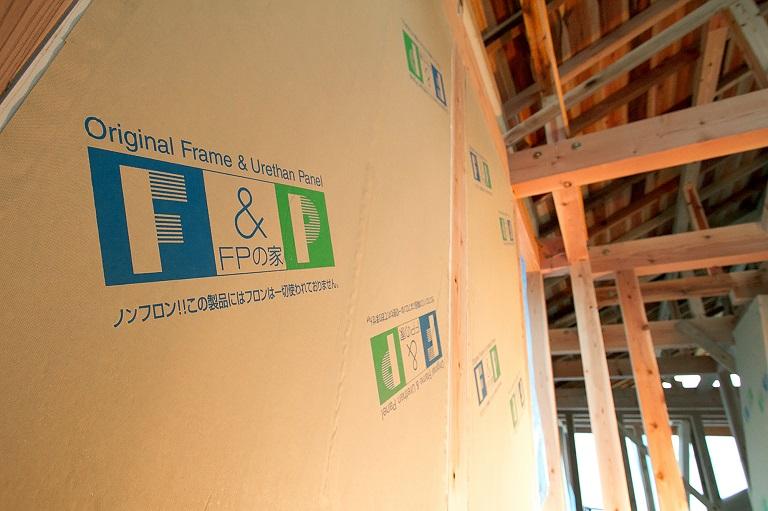 健康住宅の高い断熱気密性能