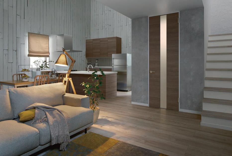 注文住宅の色選択「モダンA」