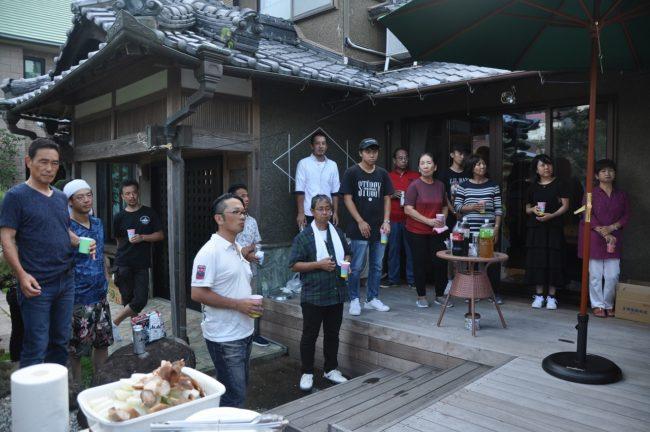 横浜の注文住宅の会長誕生祭④
