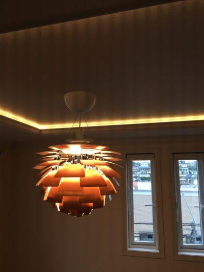 高価な照明器具の取り扱い