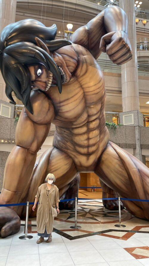 みなとみらいの巨人