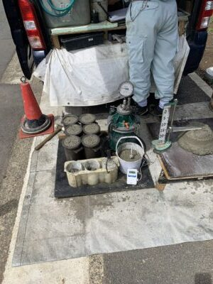 コンクリート検査